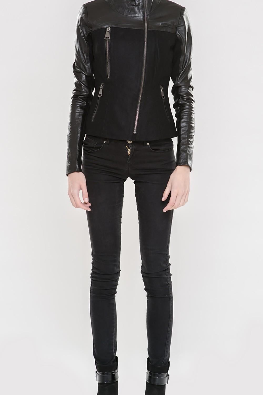 Женская одежда куртки кожаные женские